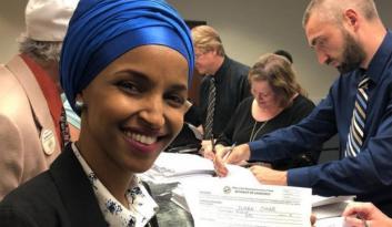 ABD seçimlerinde bir ilk! İki Müslüman kadın…