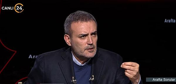 """Mahir Ünal 'Arafta' soruları yanıtladı, """"AK Parti bir millet hareketidir"""""""